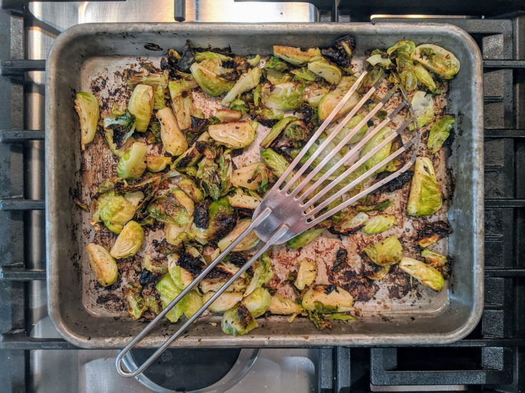 Miso Sesame Brussel Sprouts